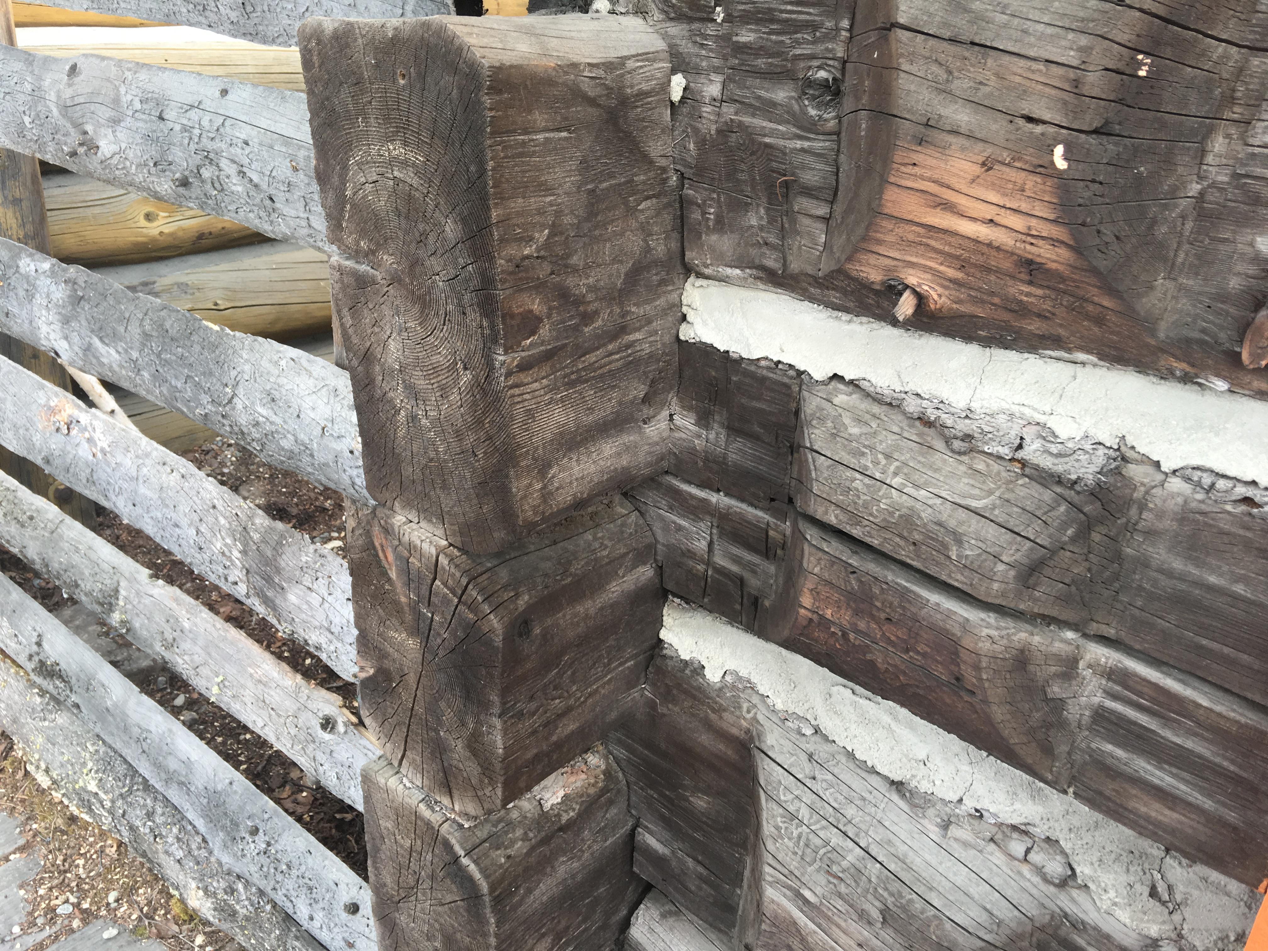 Log Cabin Corner Joints Alaska Real Estate News Valley